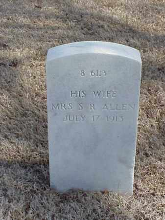 ALLEN, WIFE - Pulaski County, Arkansas | WIFE ALLEN - Arkansas Gravestone Photos