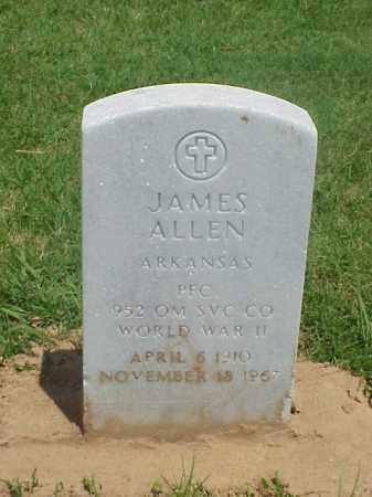 ALLEN (VETERAN WWII), JAMES - Pulaski County, Arkansas   JAMES ALLEN (VETERAN WWII) - Arkansas Gravestone Photos