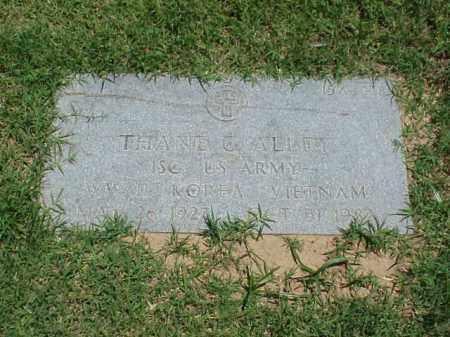 ALLEY (VETERAN 3 WARS), THANE G - Pulaski County, Arkansas | THANE G ALLEY (VETERAN 3 WARS) - Arkansas Gravestone Photos