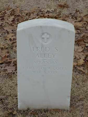 ALLEY (VETERAN), FRED S - Pulaski County, Arkansas | FRED S ALLEY (VETERAN) - Arkansas Gravestone Photos