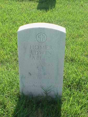 ALLEY (VETERAN WWI), HOMER EDWIN - Pulaski County, Arkansas | HOMER EDWIN ALLEY (VETERAN WWI) - Arkansas Gravestone Photos