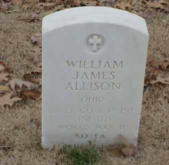 ALLISON  (VETERAN 2 WARS), WILLIAM JAMES - Pulaski County, Arkansas | WILLIAM JAMES ALLISON  (VETERAN 2 WARS) - Arkansas Gravestone Photos