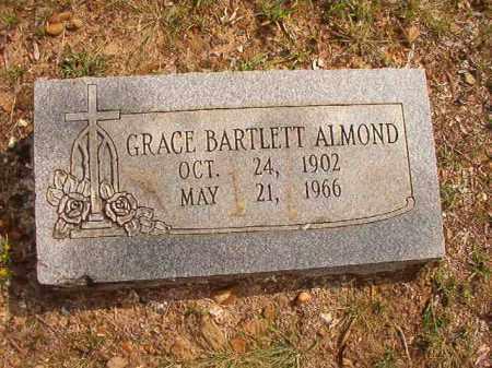 BARTLETT ALMOND, GRACE - Pulaski County, Arkansas | GRACE BARTLETT ALMOND - Arkansas Gravestone Photos
