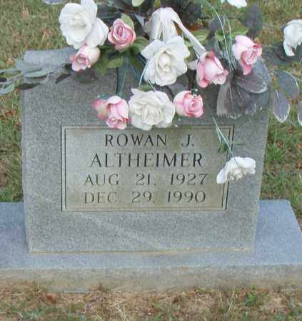 ALTHEIMER, ROWAN J. - Pulaski County, Arkansas | ROWAN J. ALTHEIMER - Arkansas Gravestone Photos