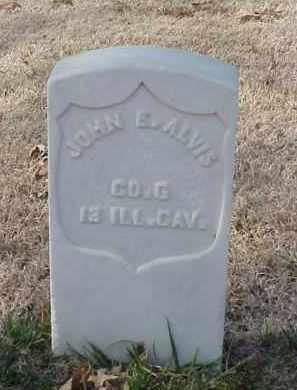 ALVIS (VETERAN UNION), JOHN E - Pulaski County, Arkansas   JOHN E ALVIS (VETERAN UNION) - Arkansas Gravestone Photos