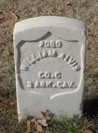 ALVIS (VETERAN UNION), WILLIAM - Pulaski County, Arkansas   WILLIAM ALVIS (VETERAN UNION) - Arkansas Gravestone Photos