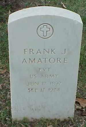 AMATORE (VETERAN), FRANK J - Pulaski County, Arkansas | FRANK J AMATORE (VETERAN) - Arkansas Gravestone Photos