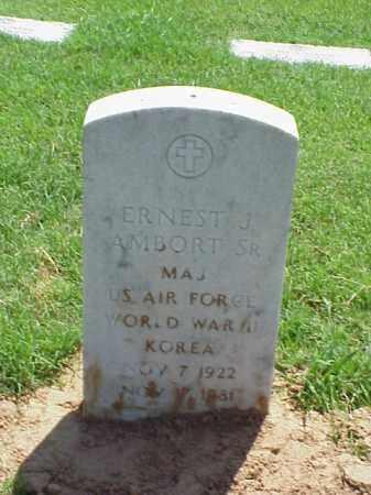AMBORT, SR (VETERAN 2 WARS), ERNEST J - Pulaski County, Arkansas | ERNEST J AMBORT, SR (VETERAN 2 WARS) - Arkansas Gravestone Photos
