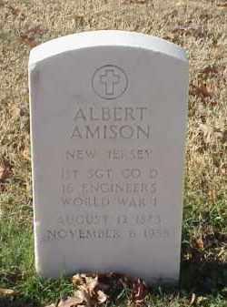 AMISON (VETERAN WWI), ALBERT - Pulaski County, Arkansas | ALBERT AMISON (VETERAN WWI) - Arkansas Gravestone Photos