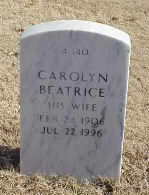 ANDERSON, CAROLYN BEATRICE - Pulaski County, Arkansas | CAROLYN BEATRICE ANDERSON - Arkansas Gravestone Photos