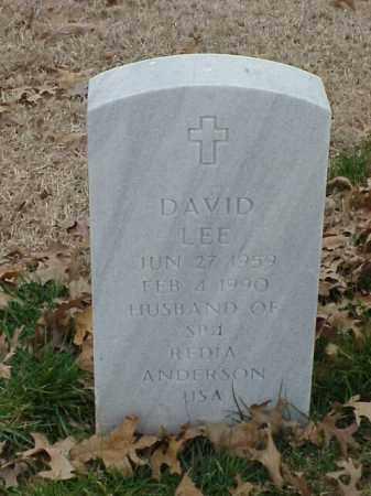 ANDERSON, DAVID LEE - Pulaski County, Arkansas | DAVID LEE ANDERSON - Arkansas Gravestone Photos