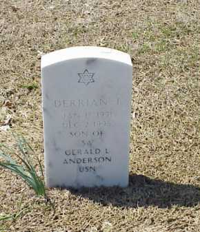ANDERSON, DERRIAN J. - Pulaski County, Arkansas | DERRIAN J. ANDERSON - Arkansas Gravestone Photos