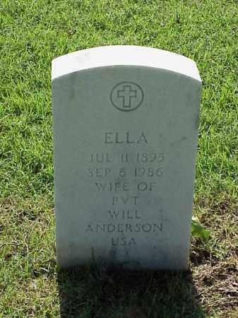 ANDERSON, ELLA - Pulaski County, Arkansas | ELLA ANDERSON - Arkansas Gravestone Photos