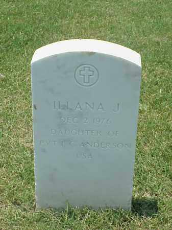 ANDERSON, ILLANA J - Pulaski County, Arkansas | ILLANA J ANDERSON - Arkansas Gravestone Photos