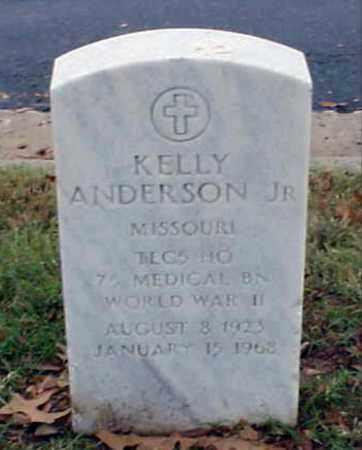 ANDERSON, JR (VETERAN WWII), KELLY - Pulaski County, Arkansas | KELLY ANDERSON, JR (VETERAN WWII) - Arkansas Gravestone Photos