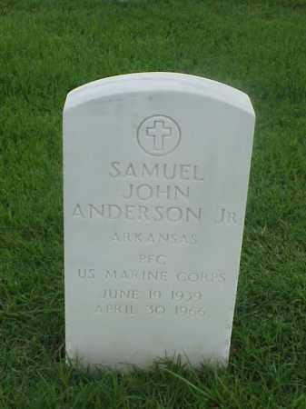 ANDERSON, JR (VETERAN), SAMUEL JOHN - Pulaski County, Arkansas | SAMUEL JOHN ANDERSON, JR (VETERAN) - Arkansas Gravestone Photos