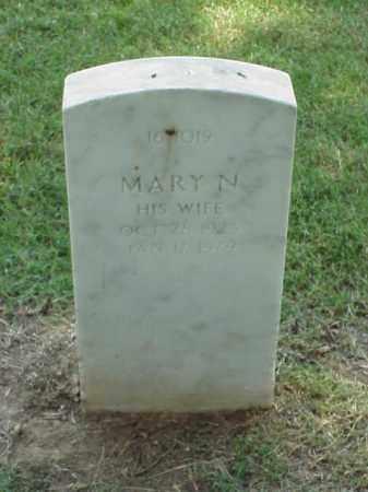 ANDERSON, MARY N - Pulaski County, Arkansas | MARY N ANDERSON - Arkansas Gravestone Photos