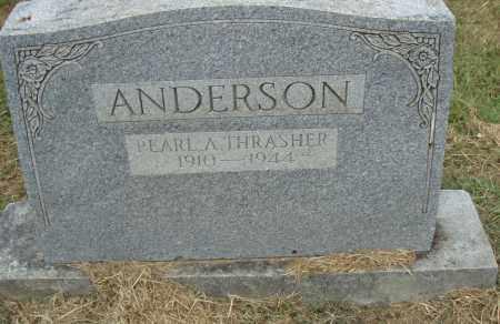 THRASHER ANDERSON, PEARL A. - Pulaski County, Arkansas | PEARL A. THRASHER ANDERSON - Arkansas Gravestone Photos