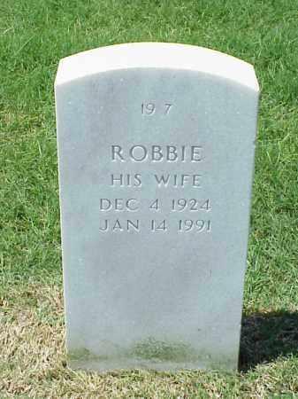 ANDERSON, ROBBIE - Pulaski County, Arkansas   ROBBIE ANDERSON - Arkansas Gravestone Photos