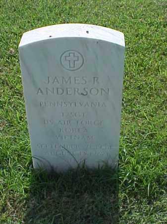 ANDERSON (VETERAN 2WARS), JAMES R - Pulaski County, Arkansas | JAMES R ANDERSON (VETERAN 2WARS) - Arkansas Gravestone Photos