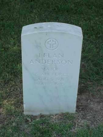 ANDERSON (VETERAN), LELAN - Pulaski County, Arkansas   LELAN ANDERSON (VETERAN) - Arkansas Gravestone Photos
