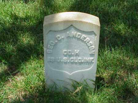 ANDERSON (VETERAN UNION), GEORGE C - Pulaski County, Arkansas | GEORGE C ANDERSON (VETERAN UNION) - Arkansas Gravestone Photos