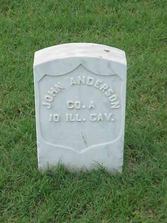 ANDERSON  (VETERAN UNION), JOHN - Pulaski County, Arkansas | JOHN ANDERSON  (VETERAN UNION) - Arkansas Gravestone Photos
