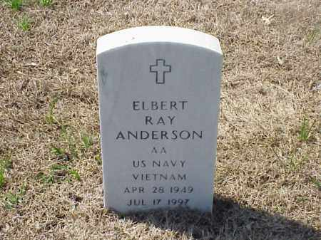 ANDERSON (VETERAN VIET), ELBERT RAY - Pulaski County, Arkansas | ELBERT RAY ANDERSON (VETERAN VIET) - Arkansas Gravestone Photos