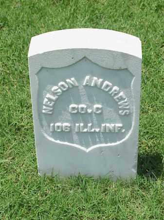 ANDREWS (VETERAN UNION), NELSON - Pulaski County, Arkansas | NELSON ANDREWS (VETERAN UNION) - Arkansas Gravestone Photos
