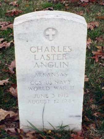 ANGLIN (VETERAN WWII), CHARLES LASTER - Pulaski County, Arkansas   CHARLES LASTER ANGLIN (VETERAN WWII) - Arkansas Gravestone Photos