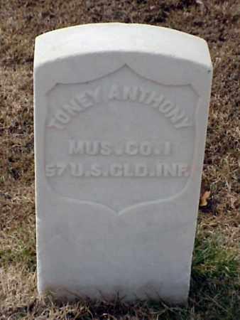 ANTHONY (VETERAN UNION), TONEY - Pulaski County, Arkansas | TONEY ANTHONY (VETERAN UNION) - Arkansas Gravestone Photos