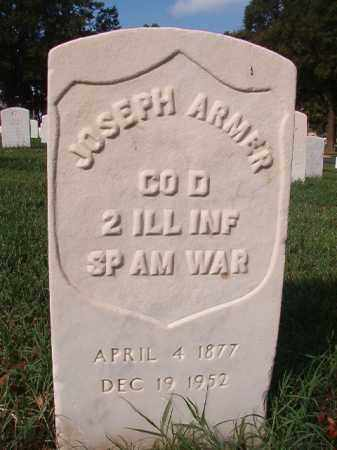 ARMER (VETERAN SAW), JOSEPH - Pulaski County, Arkansas | JOSEPH ARMER (VETERAN SAW) - Arkansas Gravestone Photos