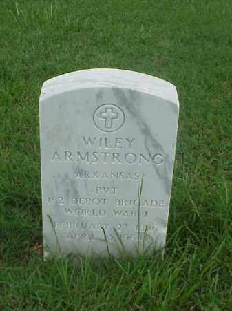 ARMSTRONG (VETERAN WWI), WILEY - Pulaski County, Arkansas | WILEY ARMSTRONG (VETERAN WWI) - Arkansas Gravestone Photos
