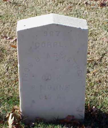 ARMSTRONG (VETERAN CSA), THOMAS B - Pulaski County, Arkansas   THOMAS B ARMSTRONG (VETERAN CSA) - Arkansas Gravestone Photos
