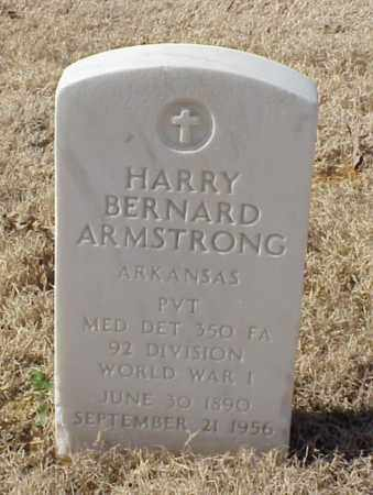 ARMSTRONG (VETERAN WWI), HARRY BERNARD - Pulaski County, Arkansas | HARRY BERNARD ARMSTRONG (VETERAN WWI) - Arkansas Gravestone Photos