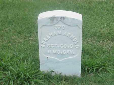 ARNOLD (VETERAN UNION), ABRAHAM - Pulaski County, Arkansas | ABRAHAM ARNOLD (VETERAN UNION) - Arkansas Gravestone Photos