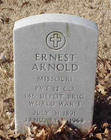 ARNOLD (VETERAN WWI), ERNEST - Pulaski County, Arkansas   ERNEST ARNOLD (VETERAN WWI) - Arkansas Gravestone Photos