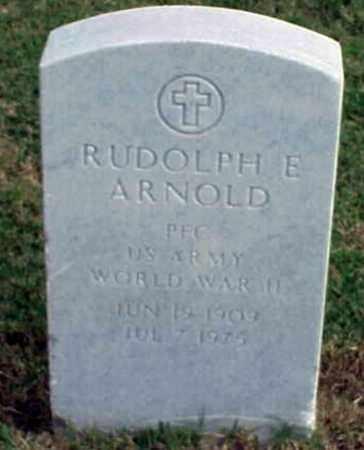 ARNOLD (VETERAN WWII), RUDOLPH E - Pulaski County, Arkansas   RUDOLPH E ARNOLD (VETERAN WWII) - Arkansas Gravestone Photos