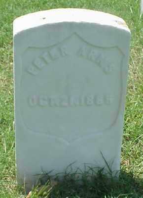 ARNS (VETERAN UNION), PETER - Pulaski County, Arkansas | PETER ARNS (VETERAN UNION) - Arkansas Gravestone Photos