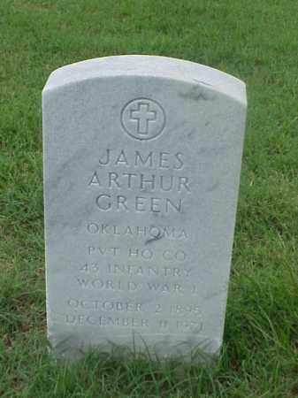 ARTHUR (VETERAN WWI), JAMES ARTHUR - Pulaski County, Arkansas   JAMES ARTHUR ARTHUR (VETERAN WWI) - Arkansas Gravestone Photos