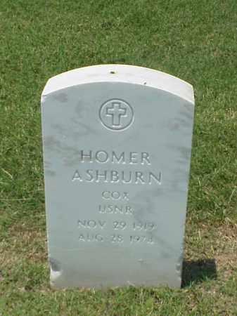 ASHBURN (VETERAN WWII), HOMER - Pulaski County, Arkansas | HOMER ASHBURN (VETERAN WWII) - Arkansas Gravestone Photos