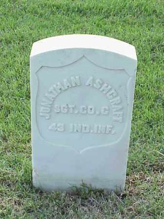 ASHCRAFT (VETERAN UNION), JONATHAN - Pulaski County, Arkansas | JONATHAN ASHCRAFT (VETERAN UNION) - Arkansas Gravestone Photos