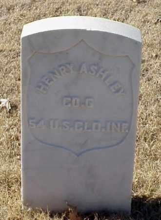 ASHLEY (VETERAN UNION), HENRY - Pulaski County, Arkansas   HENRY ASHLEY (VETERAN UNION) - Arkansas Gravestone Photos