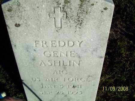 ASHLIN  (VETERAN), FREDDY GENE - Pulaski County, Arkansas | FREDDY GENE ASHLIN  (VETERAN) - Arkansas Gravestone Photos
