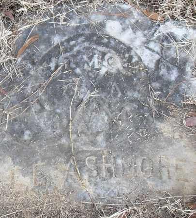 ASHMORE, L E - Pulaski County, Arkansas | L E ASHMORE - Arkansas Gravestone Photos