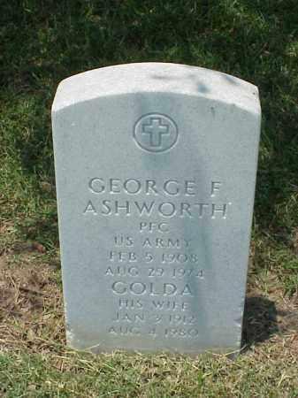 ASHWORTH, GOLDA - Pulaski County, Arkansas | GOLDA ASHWORTH - Arkansas Gravestone Photos