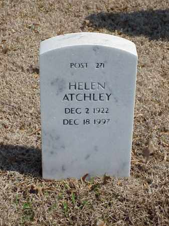 ATCHLEY, HELEN - Pulaski County, Arkansas   HELEN ATCHLEY - Arkansas Gravestone Photos