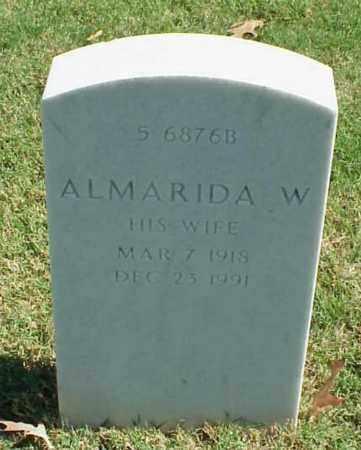 ATHERTON, ALMARIDA W - Pulaski County, Arkansas | ALMARIDA W ATHERTON - Arkansas Gravestone Photos