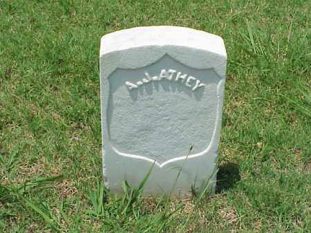 ATHEY (VETERAN UNION), A J - Pulaski County, Arkansas | A J ATHEY (VETERAN UNION) - Arkansas Gravestone Photos