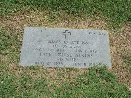 ATKINS, FAYE LOUISE - Pulaski County, Arkansas | FAYE LOUISE ATKINS - Arkansas Gravestone Photos